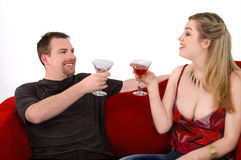 Martini Party Royalty Free Stock Images