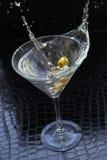 Martini-plons royalty-vrije stock afbeeldingen