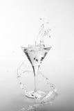 Martini pluśnięcie Obrazy Stock