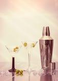Martini raffreddati Fotografia Stock Libera da Diritti