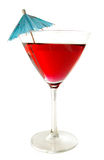 Martini-Regenschirm Stockbilder