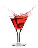 Martini rojo Fotos de archivo libres de regalías