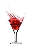 Martini rojo Imagenes de archivo