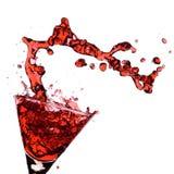 Martini rojo Foto de archivo libre de regalías