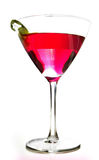 Martini rosado Fotografía de archivo libre de regalías