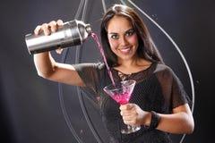 Martini rose photo libre de droits