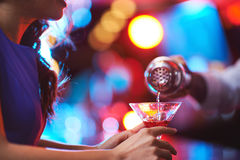 Martini rossa Royalty Free Stock Photo