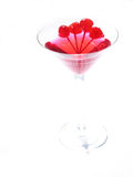 Martini rouge photographie stock