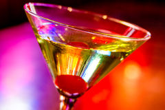 Martini's at the Local Pub Royalty Free Stock Photos