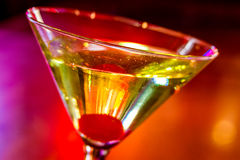 Martini's at the Local Pub Royalty Free Stock Photography