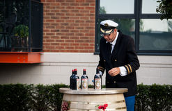 Martini sailor Stock Images