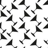 Martini seamless vector pattern Stock Photos