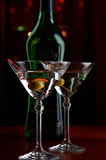 Martini served Royalty Free Stock Photo