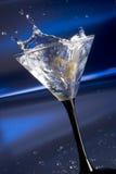 Martini splash royalty free stock image
