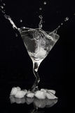Martini splash Stock Photography