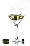Martini splash Royalty Free Stock Images