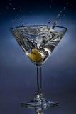 Martini splash Royalty Free Stock Photo