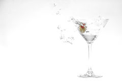 Martini splash Royalty Free Stock Photo