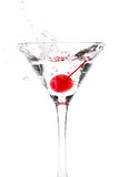 Martini splash Stock Photography