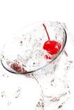 Martini splash Royalty Free Stock Photography
