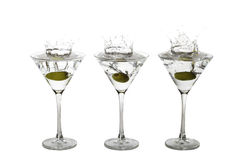 Martini Splash Royalty Free Stock Photography