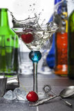 Martini Splash - Cocktail Stock Photos