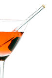 Martini and Thermometer Royalty Free Stock Photo