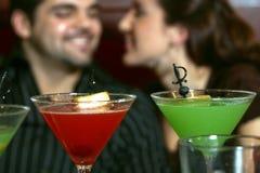 martini tid Arkivfoton