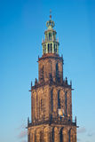 Martini tower in Groningen Royalty Free Stock Photos