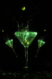 martini trio Arkivbild