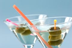 Martini for two Royalty Free Stock Images