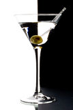 Martini in un vetro fotografie stock libere da diritti