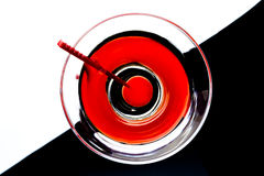 Martini in un vetro Immagini Stock