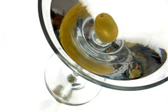 Martini up close. Vodka martini as it should be Stock Photography