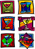 Martini Vector Illustrations Stock Photo