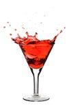 Martini vermelho foto de stock
