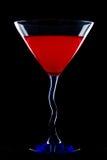 Martini vermelho Fotografia de Stock Royalty Free