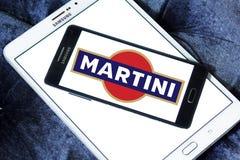 Martini wermutu gatunku logo Fotografia Stock