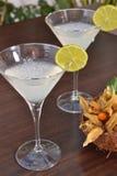 Martini-Zitronencocktail Lizenzfreies Stockfoto