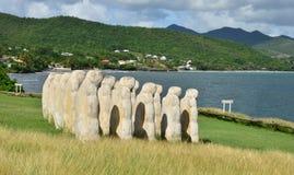 Martinica, cidade pitoresca do Le diamant nas Índias Ocidentais Imagens de Stock