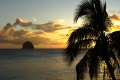 Martinique, diamont rock Royalty Free Stock Photography