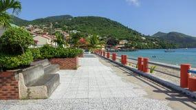 Martinique is een aardig Caraïbisch eiland royalty-vrije stock fotografie
