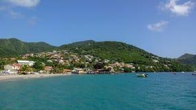 Martinique is een aardig Caraïbisch eiland royalty-vrije stock foto
