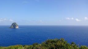 Martinique is een aardig Caraïbisch eiland stock fotografie