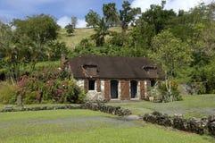 Martinique, het museum van La Pagerie Stock Afbeeldingen