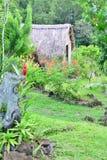 Martinique, malerische Stadt von Les Trois Ilets in Antillen Lizenzfreie Stockfotos