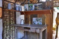 Martinique, malerische Stadt von Les Trois Ilets in Antillen Stockfotografie