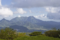Martinique mountains Stock Photo