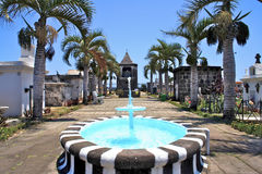 Martinique ocean cemetery Stock Photos
