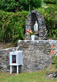 Martinique, old oratory in Le diamant in West Indies Royalty Free Stock Photo